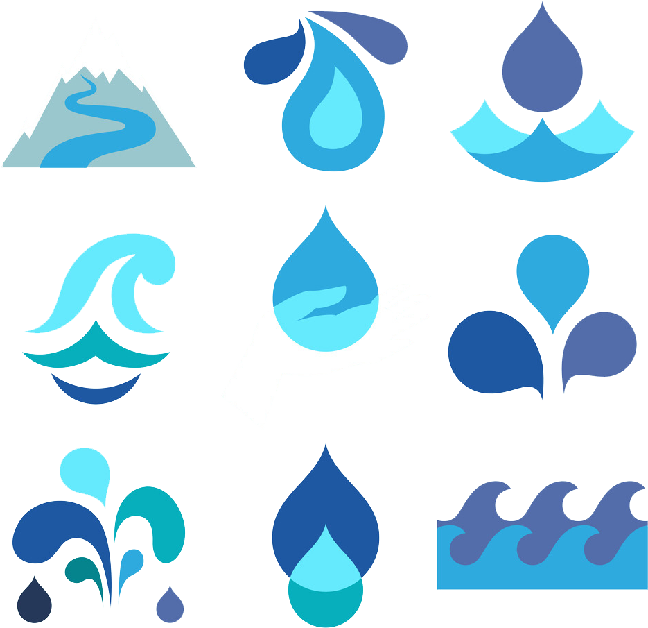 Sweat Drop Clip Art Anime: Drop Water Flat Design Clip Art