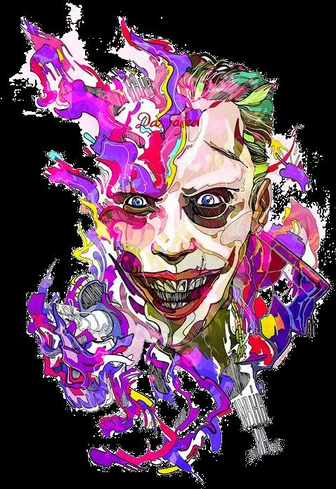 Jared Leto Joker Png Editor De Fotos Online Desenhos Do