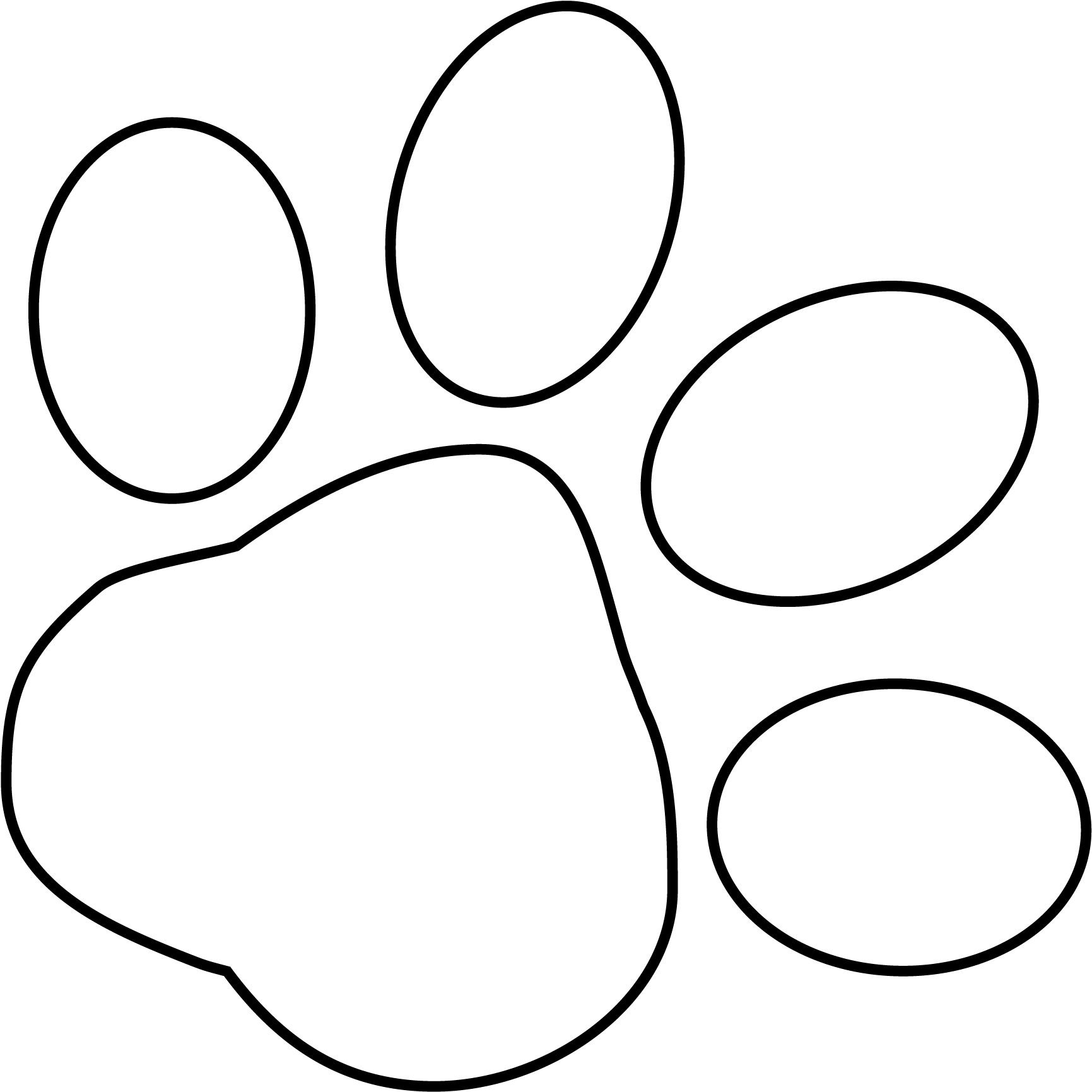 Wolf Paw Print Png White Paw Print Transparent Background 36293 Vippng This high quality free png image without any background is about dog, pet, cat, puppy, animal, print and paw. wolf paw print png white paw print
