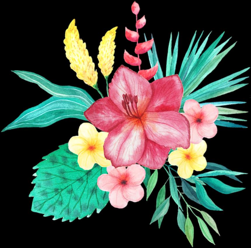 вас учили, тропические цветы картинки нарисованые весенне-летнего