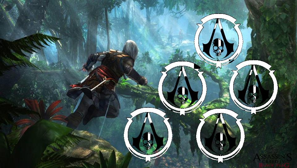 Assassin S Creed Black Flag Logo Png Assassin S Creed Black Flag