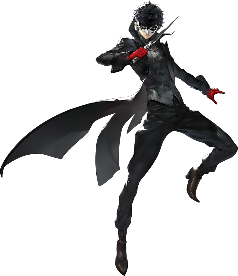 Persona 5 Joker Png Smashwiki B Joker Persona 5 Concept Art 305721 Vippng