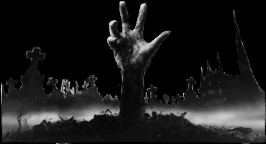 graveyard silhouette png - #graveyard #hand #dead #death # ...