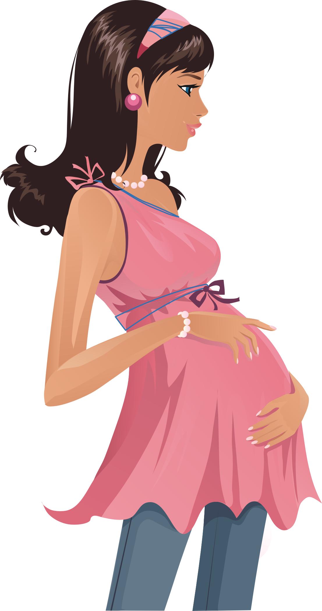 Беременные подруги картинки нарисованные