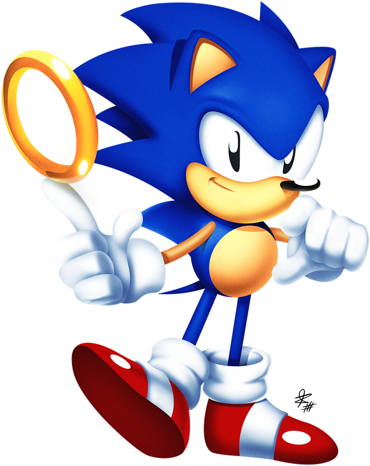 Sonic Ring Png Son Of A Glitch On Twitter Sonic The Hedgehog Japanese 3126924 Vippng