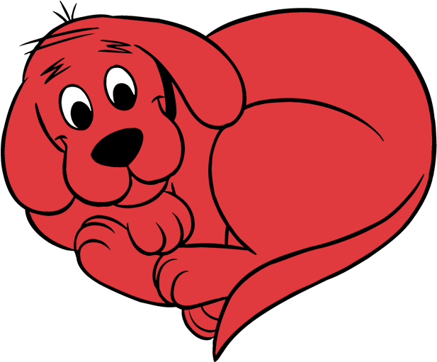 Clifford The Big Red Dog Png Clifford Stickers Messages Sticker