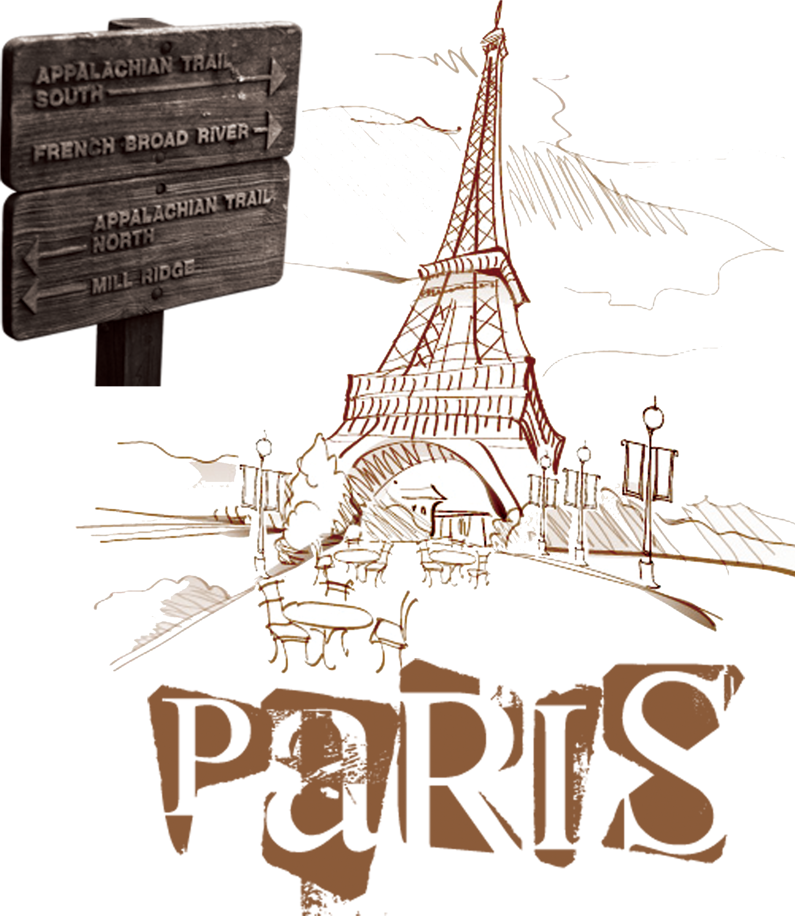 Eiffel Tower Drawing Png Svg Royalty Free Download Paris Vector Sketch Paris Line Art Transparent 3222409 Vippng