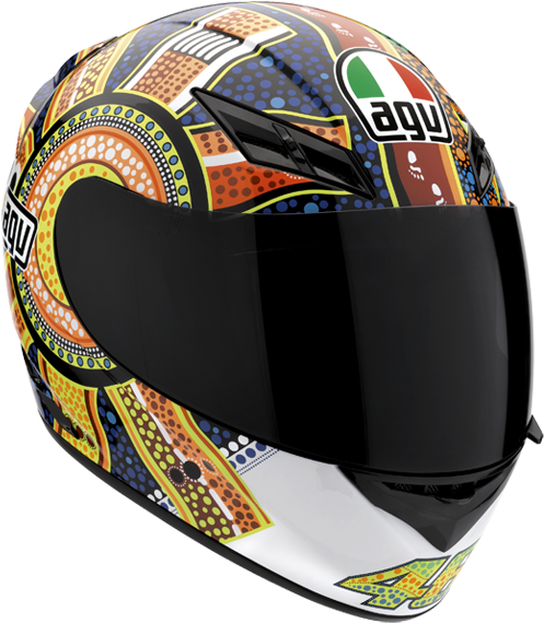 Racing Helmet Png Agv Dreamtime K3 3352081 Vippng