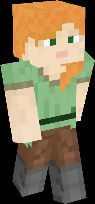 Minecraft Steve Running Png Alex Minecraft Girl Skins 3354949 Vippng