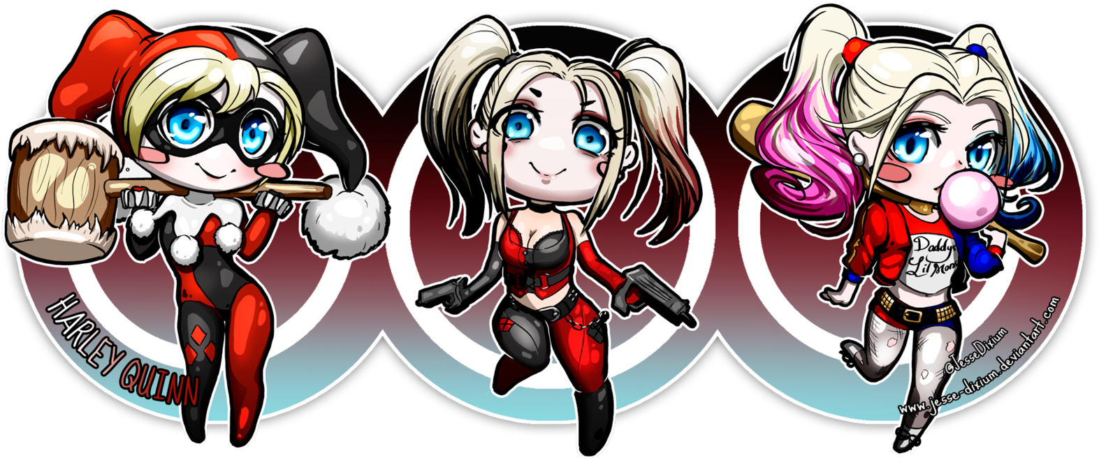 Harley Quinn Chibi Png Harley Quinn Wallpapers Search Result Cliparts For Joker Harley Quinn Evolution 350305 Vippng
