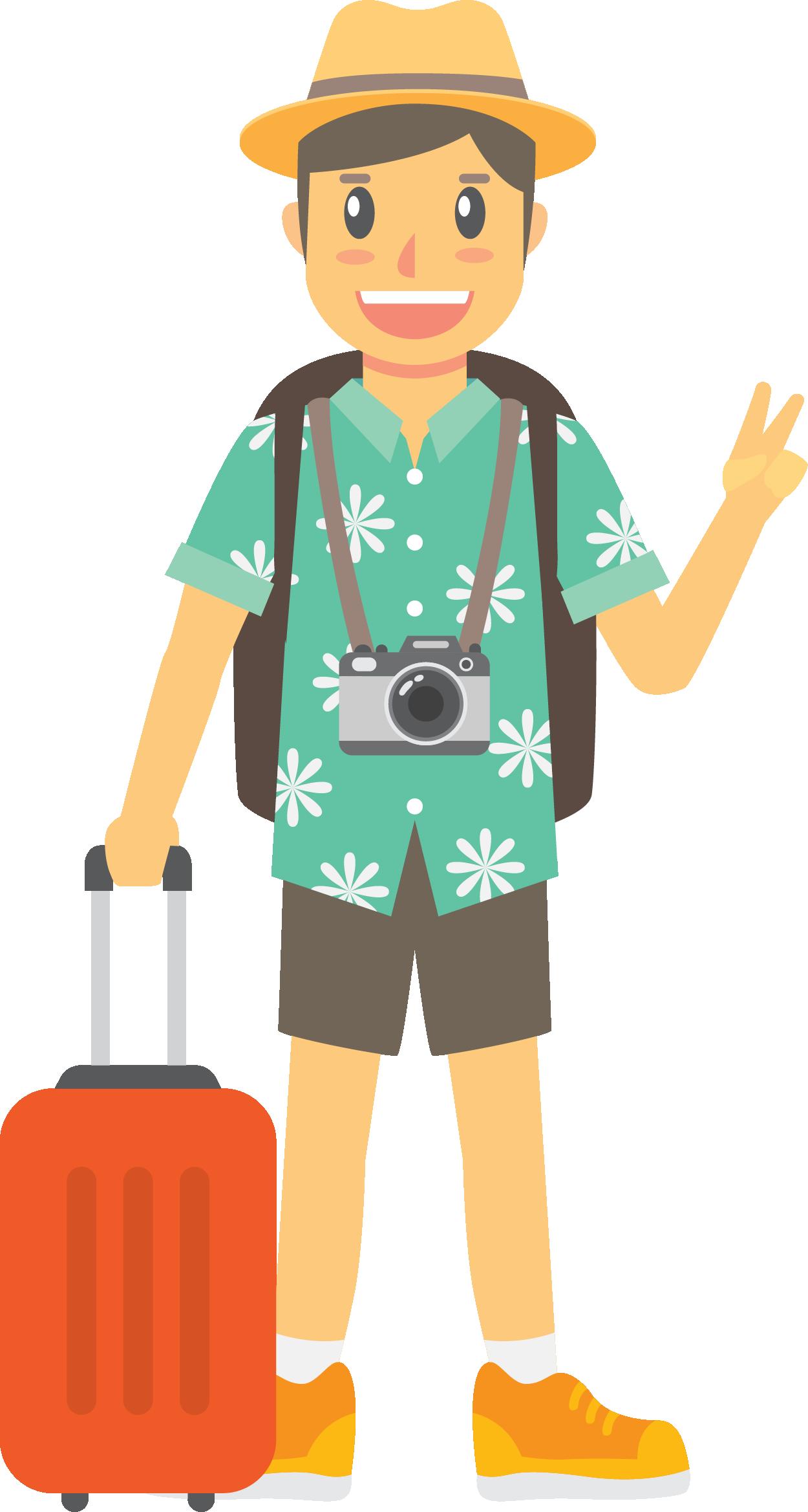 составляющей картинки вектор туризм повезло, блогеры