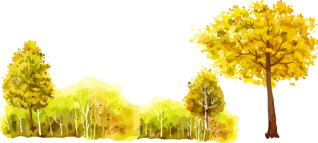 fall watercolor png ftestickers watercolor forest trees yellow autumn watercolor paint 3880050 vippng ftestickers watercolor forest trees