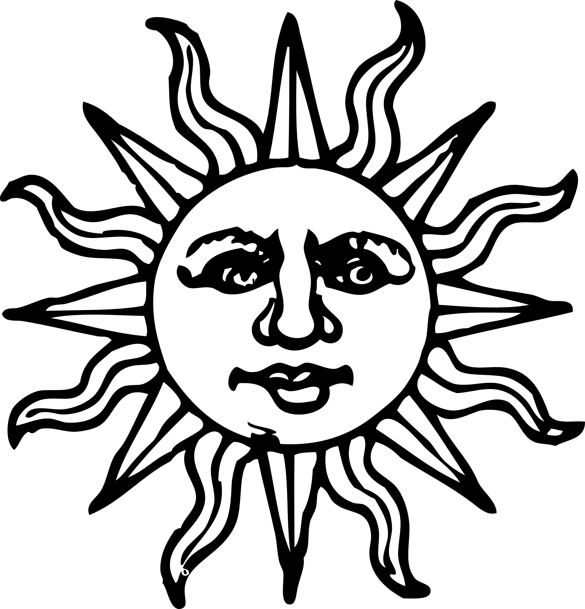 Banner Vector Black And White Png Happy Sun Png Black And White
