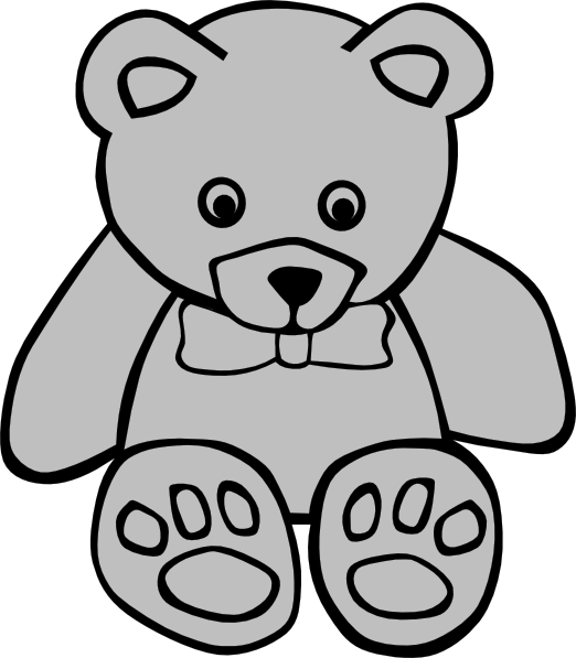 Teddy Bear Png Bear Png Cute Teddy Bear Coloring Pages 410243 Vippng