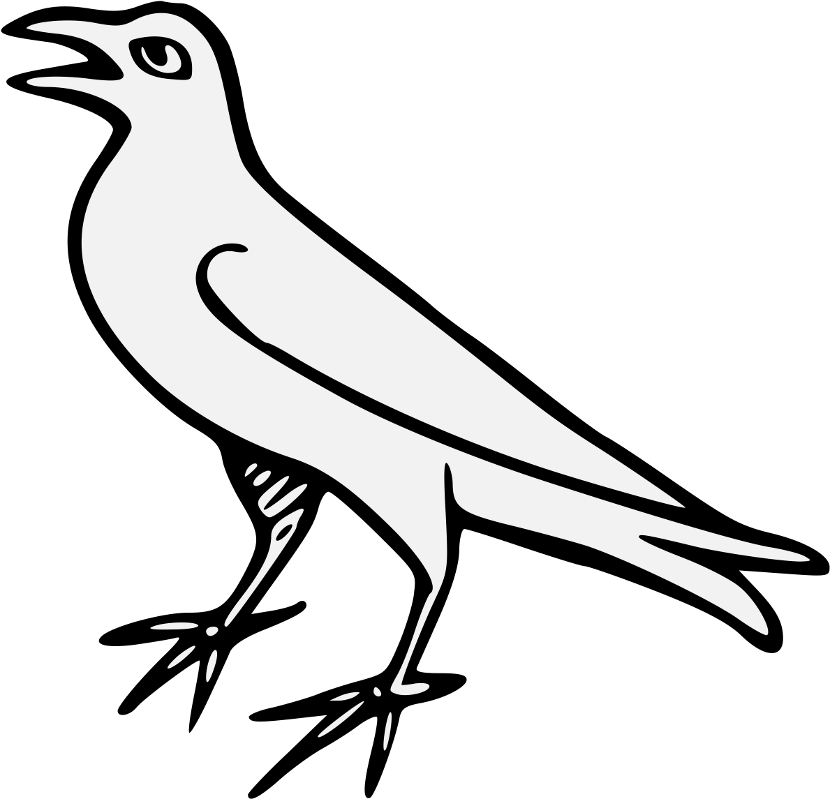 Bird Wing Png Bird Sketch 4174571 Vippng