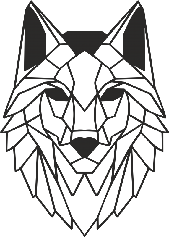 wolf face png - Wolf Metal Wall Art Decor Portraits - Wolf ...