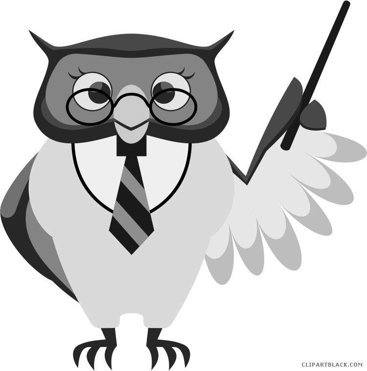 Owl Png Clipart - 14 Cliparts For Free Smart Clipart Owl And Use In - Good  Luck In Ma Thesis Defense | #4500984 - Vippng