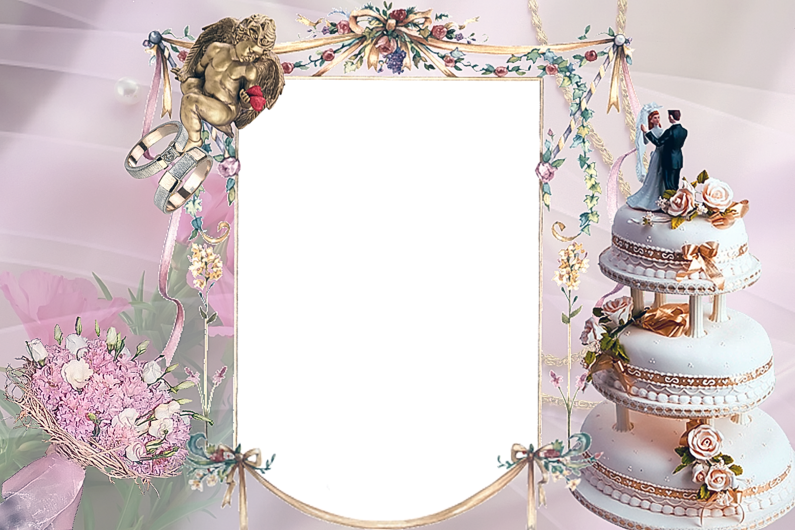 Wedding Frames Png Free Download Free Psd Wedding Frames For Wedding Photo Frames Psd Free Download 4526844 Vippng