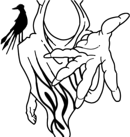 Demon Hand Png Drawn Joker Demon Drawings Of Insane Clown Posse 4726731 Vippng