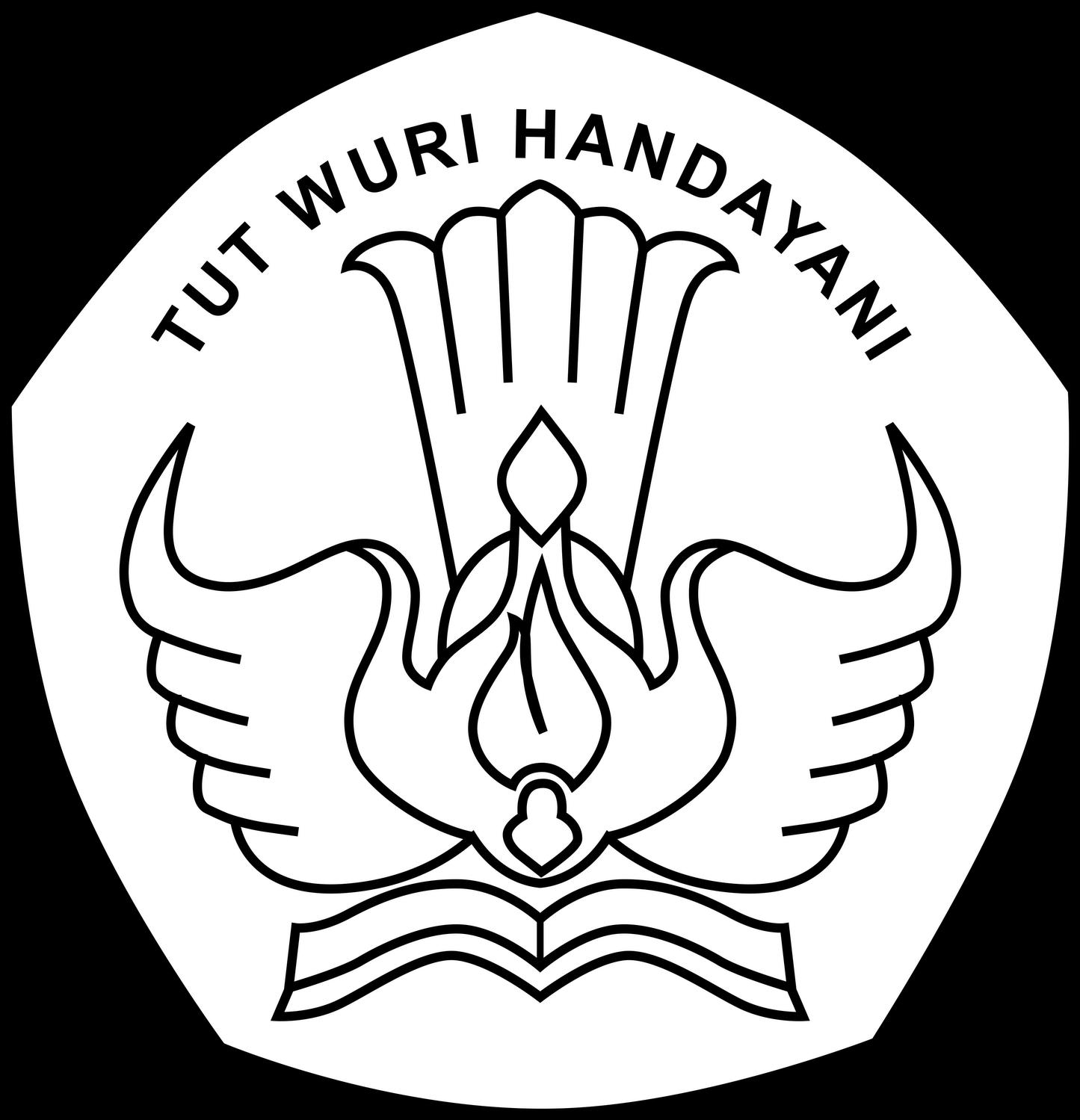 Sayap Png Logo Wuri Handayani Newhairstylesformen2014m Logo Tut Wuri Smp 4890801 Vippng