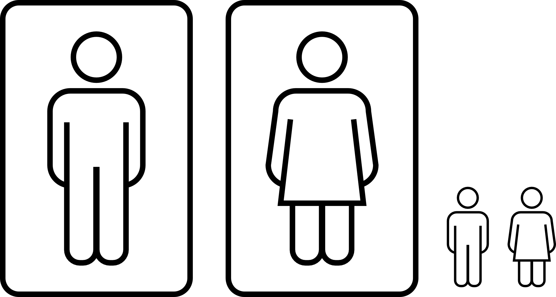 Toilet Icon Png Men And Women Toilet Icon Drawing Animasi Laki Laki Dan Perempuan 4974389 Vippng