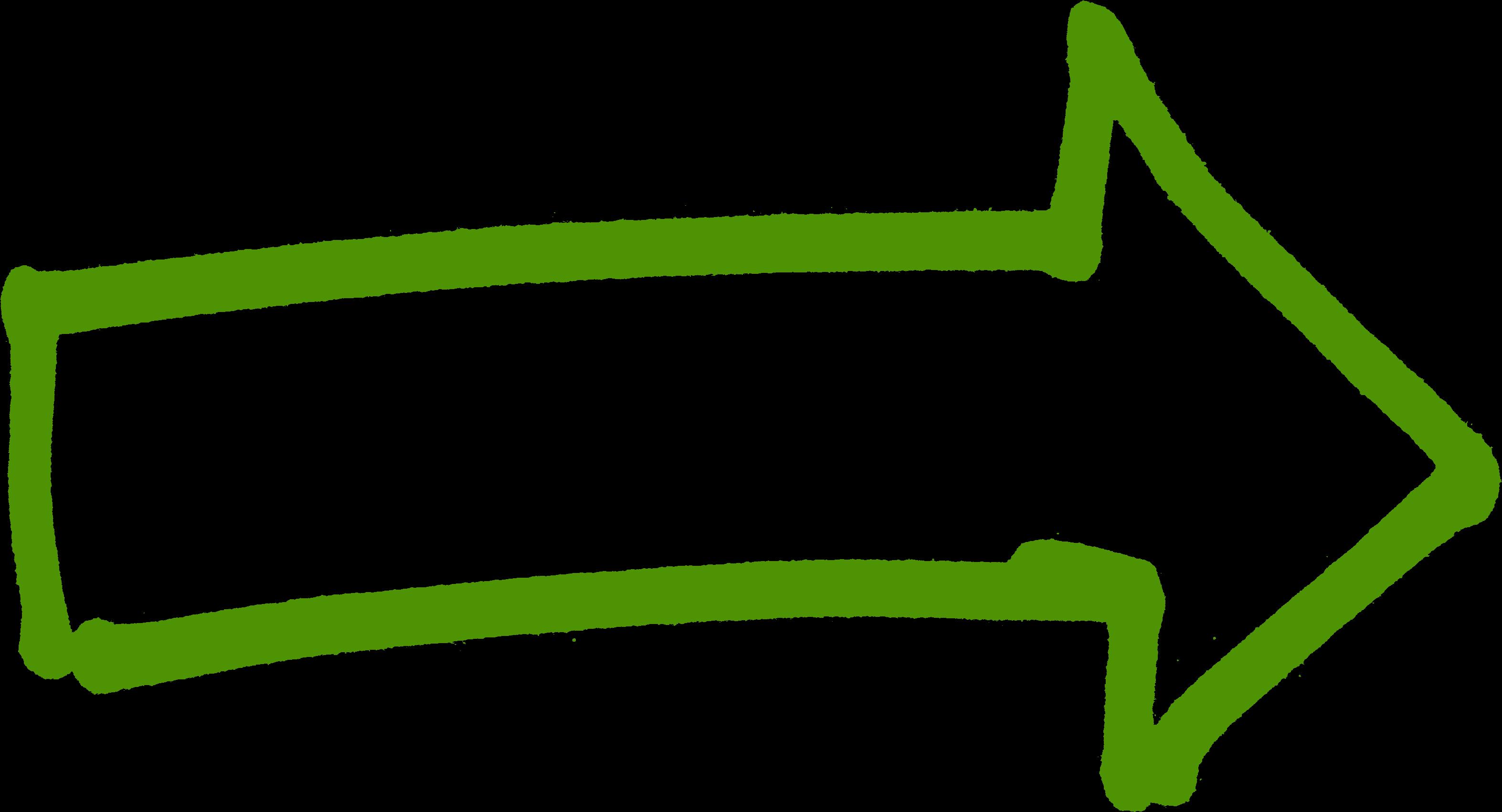 png arrows - Green Right Arrow - Transparent Clipart Arrow ...