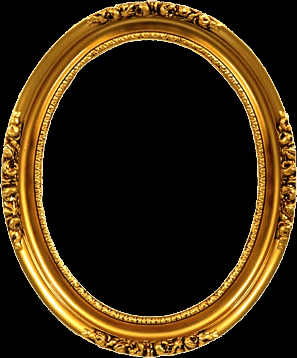 victorian frame png - Transparent Gold Oval Frames - Oval ...