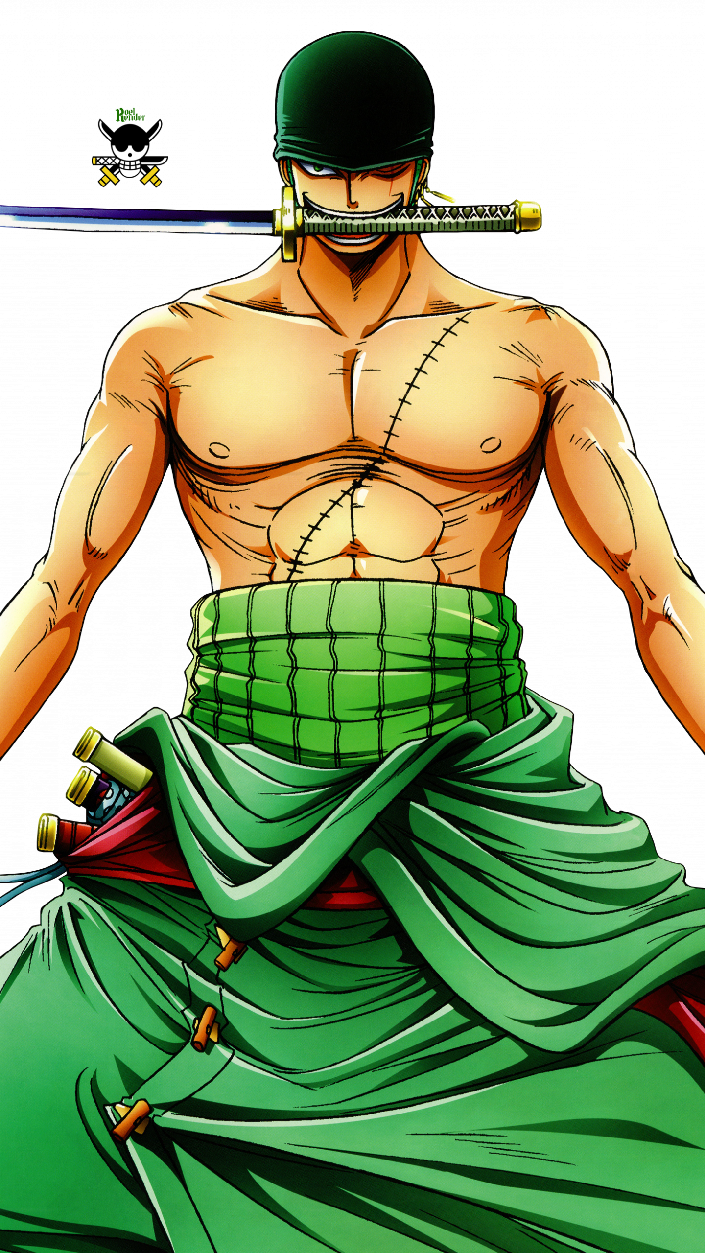 Zoro Png Roronoa Zoro Hd Wallpaper Animation Wallpapers Roronoa Zoro 3 Swords 5183898 Vippng