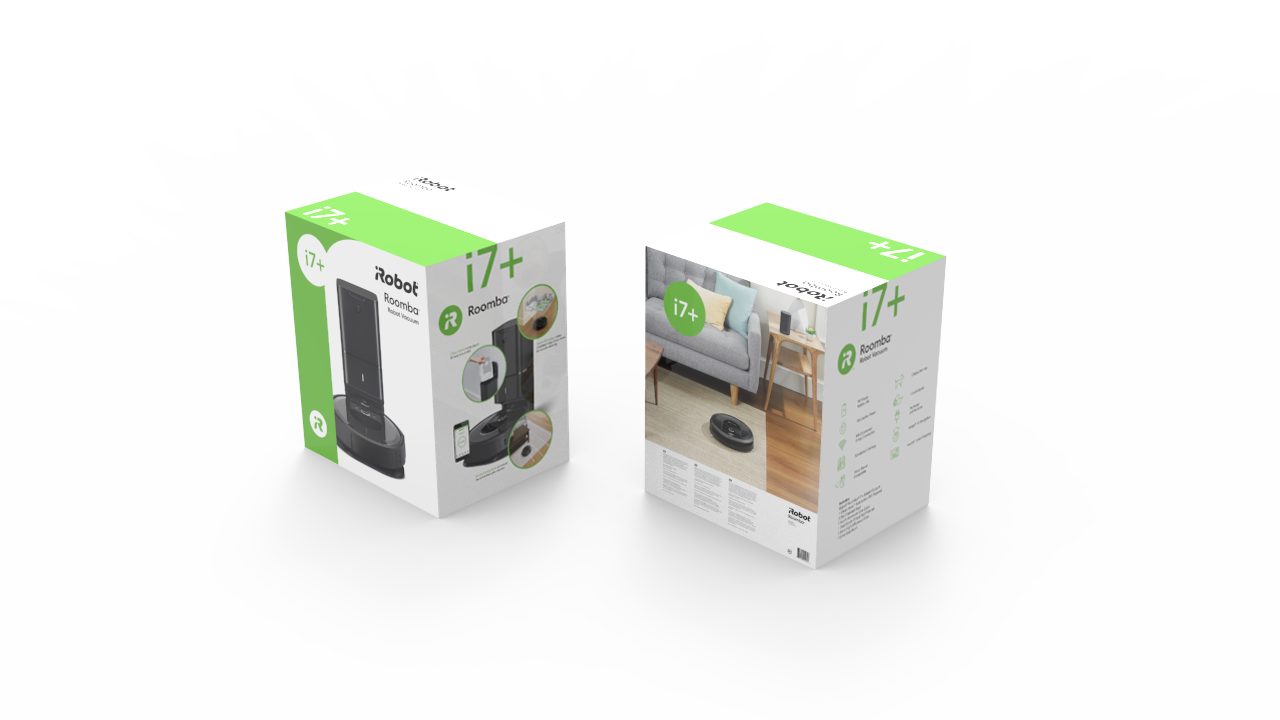 Roomba Png I7 Box Redesigns Xbox 360 5308954 Vippng