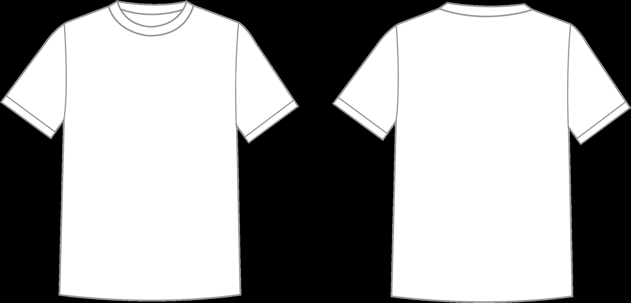 blank t shirt png - T Shirt Template Png - Transparent T ...