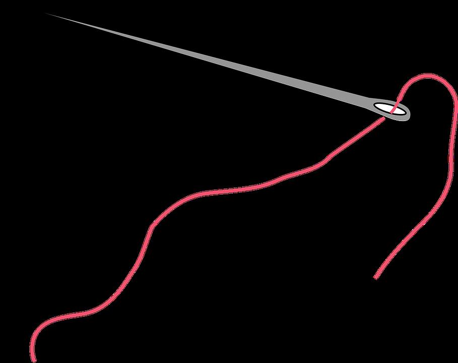 Картинка иглы с нитками