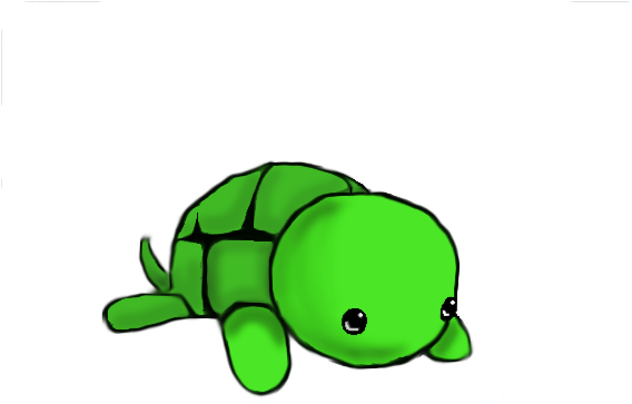 Turtle Clipart Png Vector Transparent Library Cute Drawings Of Turtles Easy Cute Turtle Drawing 670594 Vippng
