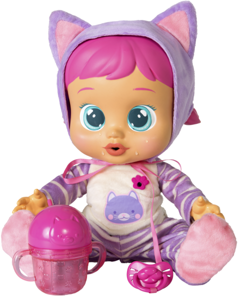Baby Toys Png Katie Cry Baby Doll Accessories 684537 Vippng