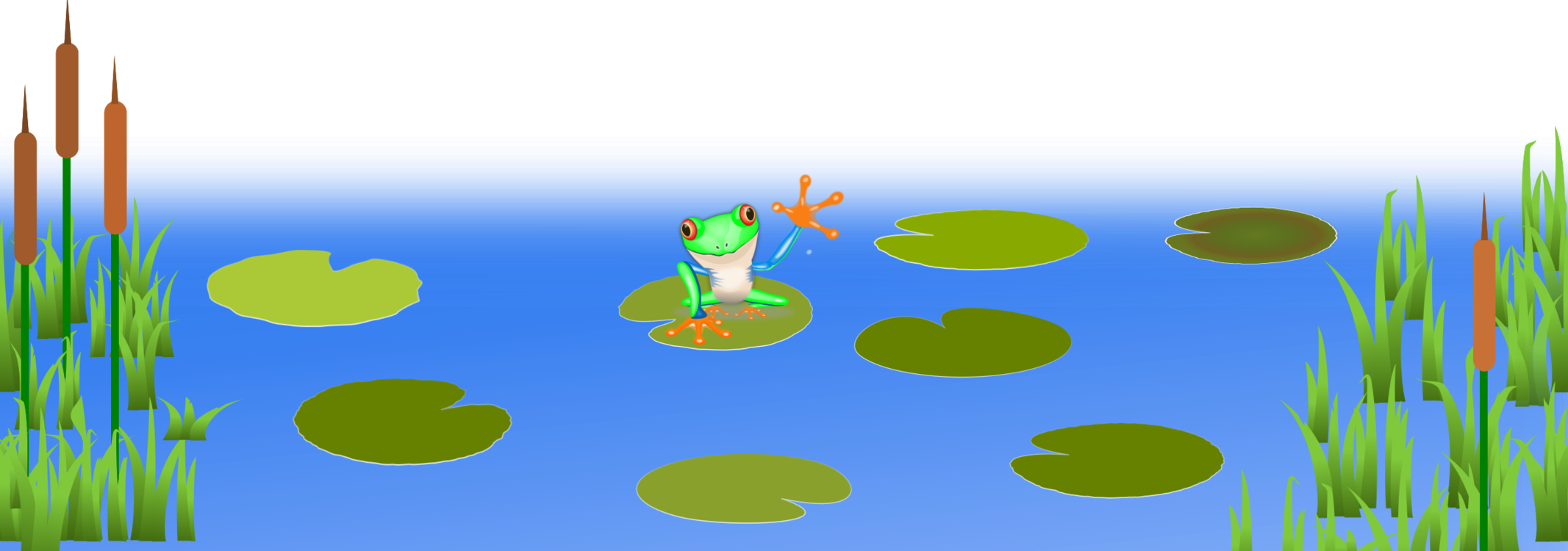 Lilly Pad Png Pond Transparent Lily Pad Clipart Pond With Lily Pads Clipart 717268 Vippng