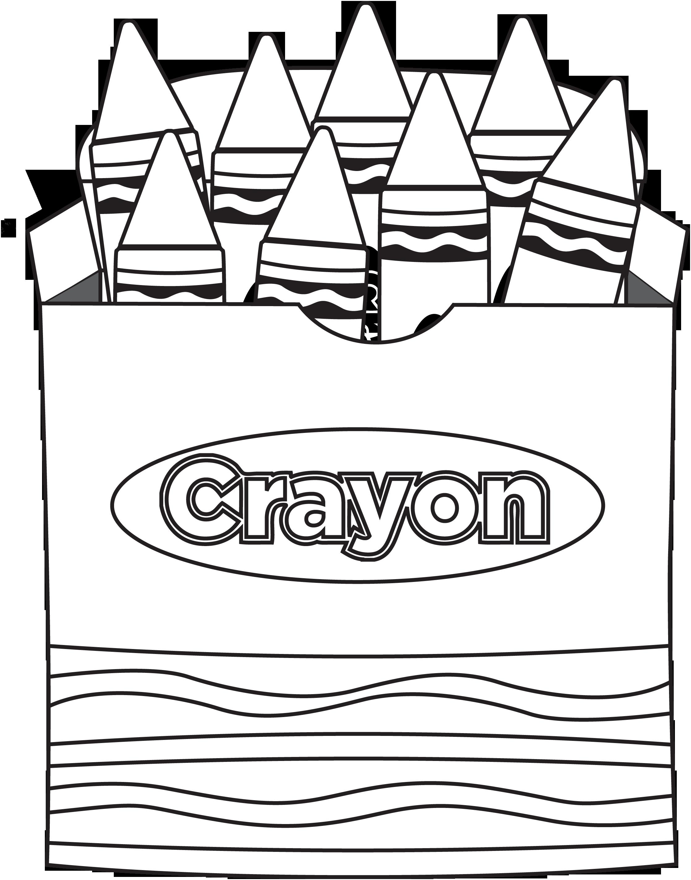 Crayon Box Png Crayon Box That Talked Coloring Page Crayola Crayon Coloring Page 780137 Vippng
