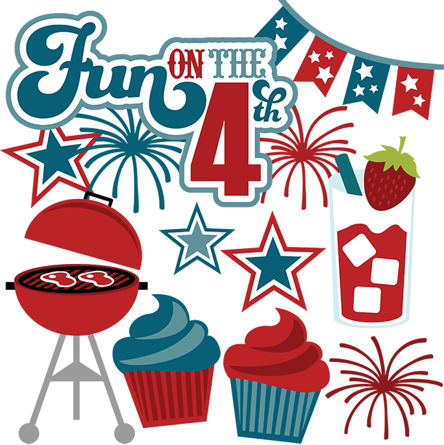 Transparent 4th of july clipart png - 4th Clipart Fourth July Food - 4th Of July Fun Clipart